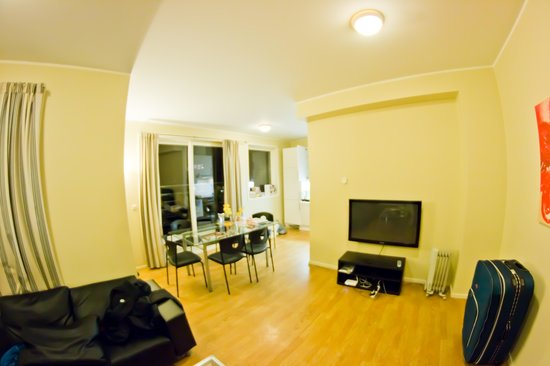 Gruner Apartment Hotel Oslo: Common area with TV