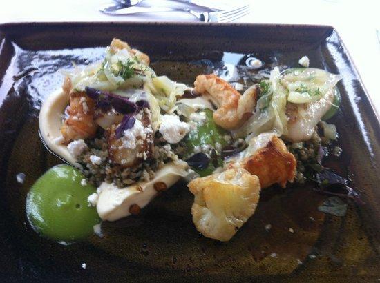 Lava Restaurant : Cod & Langoustines: photo cannot do justice