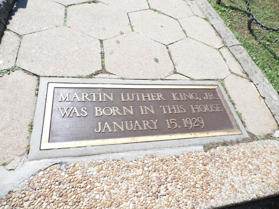 Martin Luther King Jr. National Historic Site: Tumba