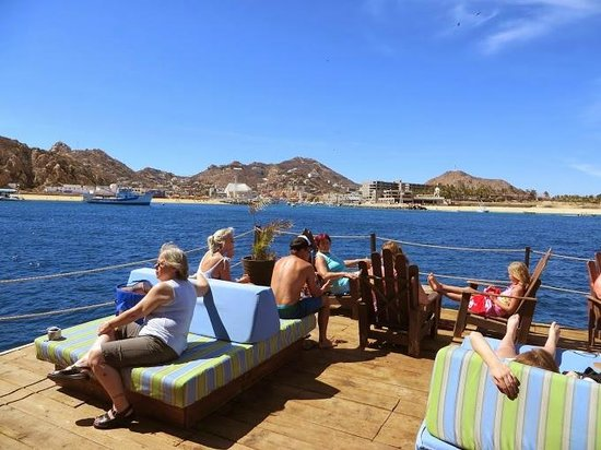 """Cabo San Lucas Tours: On the Boat during our """"A Day at the Island"""" Tour"""