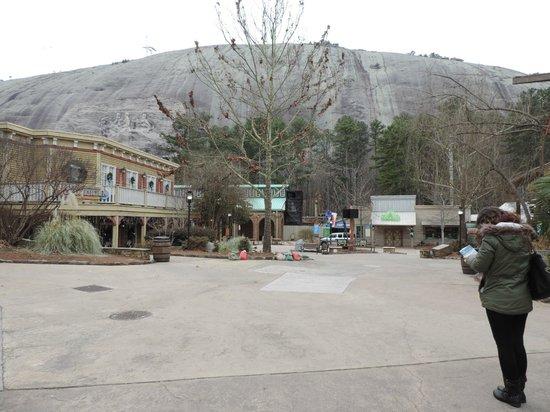 Stone Mountain Park: Vue du site