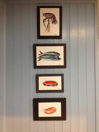 The West Country Deli: Gorgeous local artwork