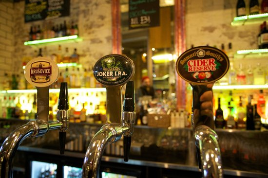 Dukes Bar Glasgow: Nice Selection