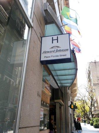 Hotel Howard Jonhson: Rua Florida