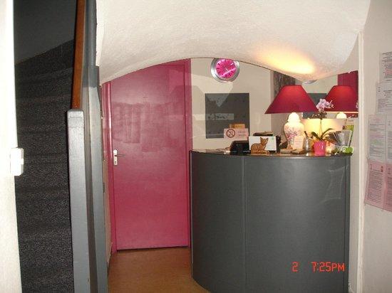 Hotel La Marmotte : Réception
