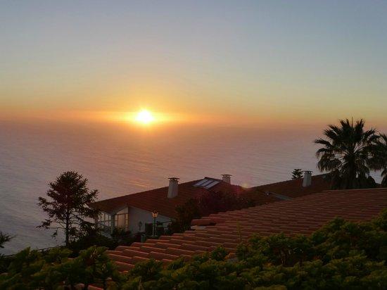 Hotel Jardim Atlantico: Herrlicher Sonnenuntergang inklusive