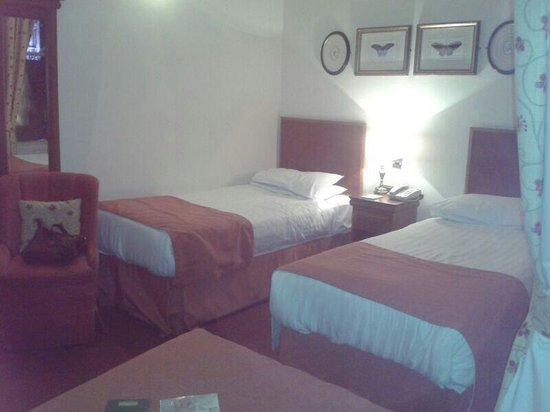 The Old Waverley Hotel : Habitación triple 316