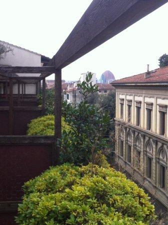Athenaeum Hotel: Da uno dei terrazzi delle camere..