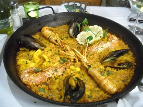 Restaurante Navarro: Paella ai frutti di mare