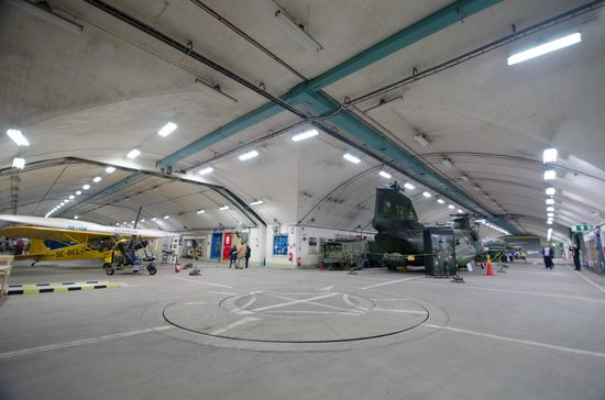 Aeroseum : Des garages à avion