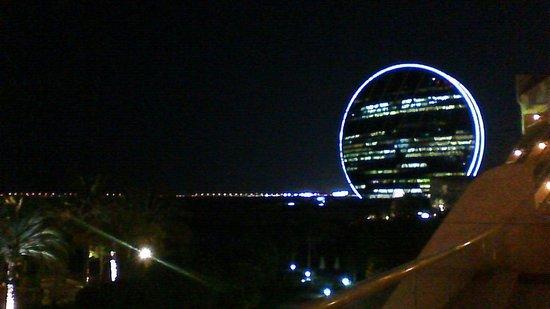 Al Raha Beach Hotel: vue de la chambre