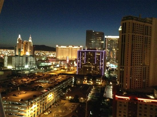 Signature at MGM Grand: View from Tower 2, 19th floor