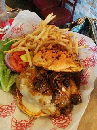 Burger & Beer Joint - Brickell: Turkey burger