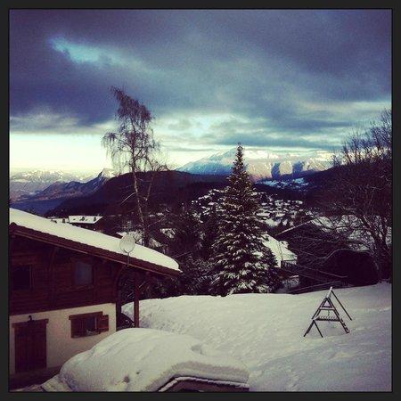 la Croix de Savoie: Vue depuis la salle de bain