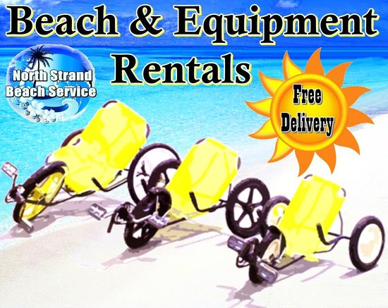 North Strand Beach Services Bikes