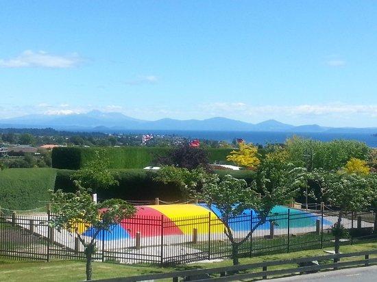 Taupo DeBretts Spa Resort : Big Bounce Air Pad