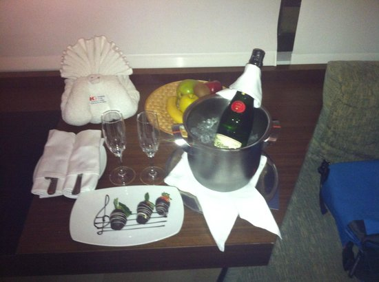Presidente InterContinental Cancun Resort: Welcome gift