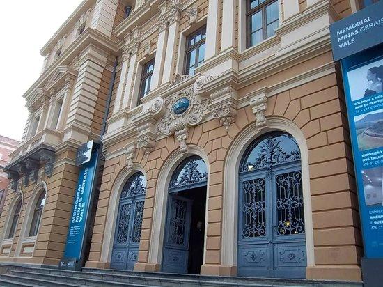 Memorial Minas Gerais - Vale: Fachada del Museo