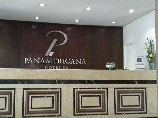 Panamericana Hotel Providencia: Recepção