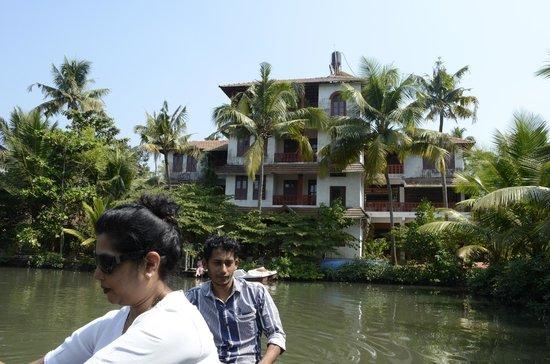Shravanam Greens : View from the garden