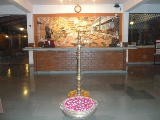 Olde Bangalore Hotel & Resort: reception