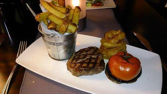Auchrannie House Hotel : Brambles steak