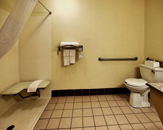 Quality Inn Pensacola: Accessible Guest Bath