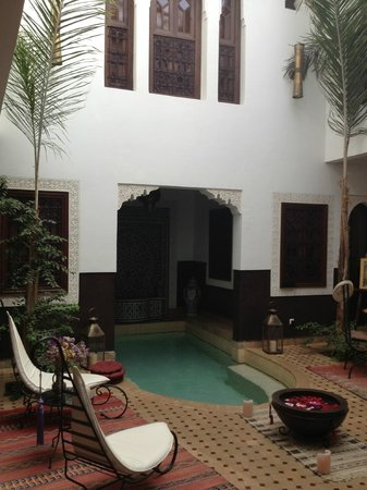 Riad Charme d'Orient: Our nightly treat to cool down