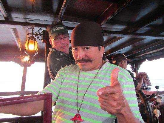 Jean Laffite Pirate Dinner Cruise: Pirate