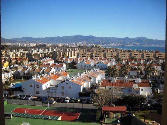 Tryp Malaga Guadalmar Hotel: Try Guadalmar: land view