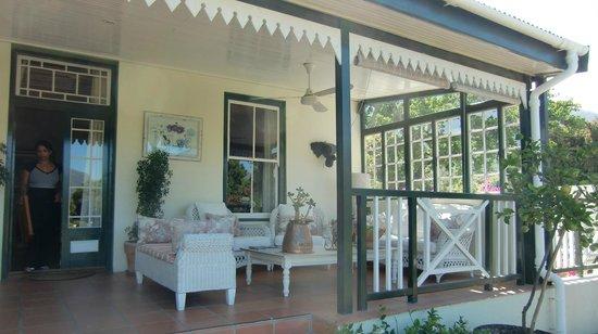 Residence Klein Oliphants Hoek: Terrasse