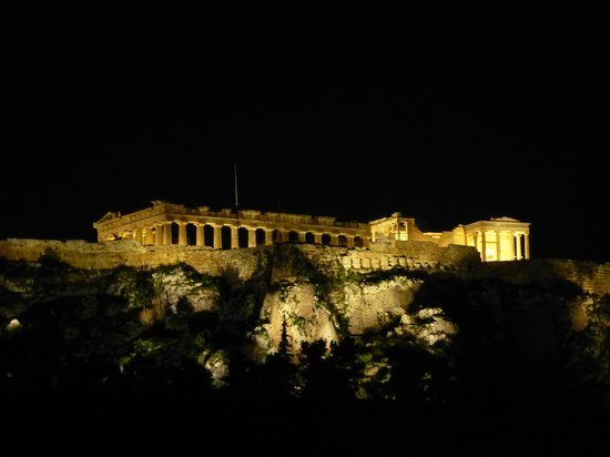 Plaka Hotel: The Acropolis from room 610.