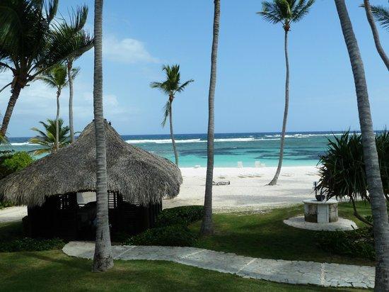 Club Med Punta Cana : vue de la plage depuis le spa