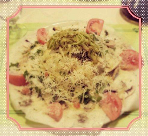 Pizzeria La Tartaruga : Carpaccio de queso blanco!!! Mi preferido!!!