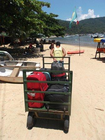 Pousada Naturalia: only transport on island