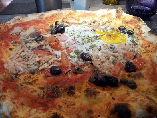 La Villa d'Este: Pizza marinara