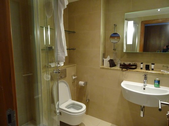 Limerick Strand Hotel: bathroom - view of stand up shower