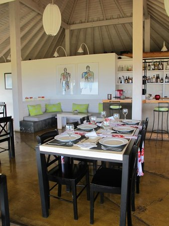 Hotel Altiplanico: Dining room