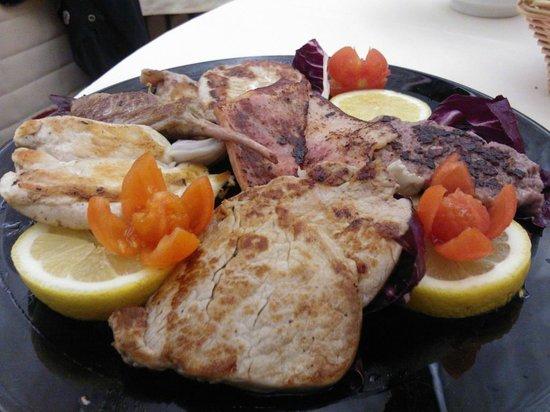Granbaita: carni cotte su pietra