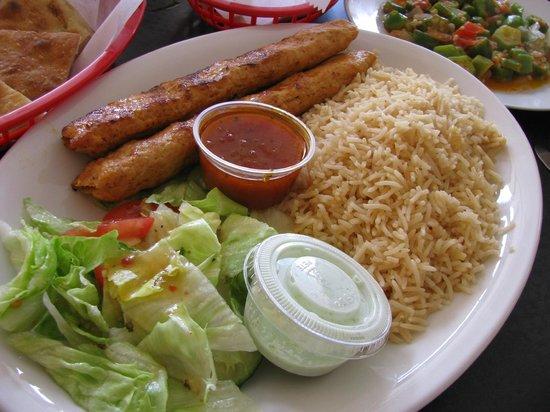 Royal Fish & Chips: KASHMIR CHICKEN SEEKH KEBAB