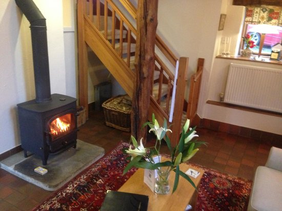 Tom's Barn and Douglas's Barn: Beautiful fire
