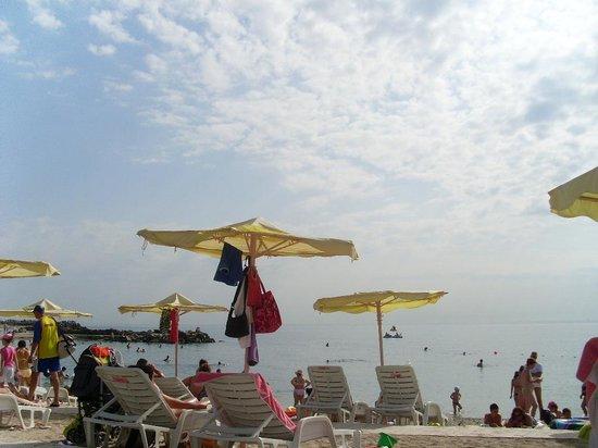 Hotel Amfiteatru: stranda