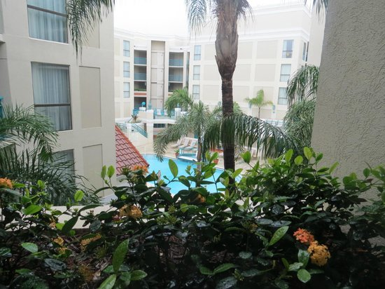 Sonesta ES Suites Orlando - International Drive : Vista do corredor dos quartos