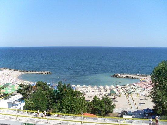 Hotel Amfiteatru: utsikten fra balkongen