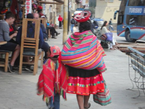ChocoMuseo Ollantaytambo: Colorido.