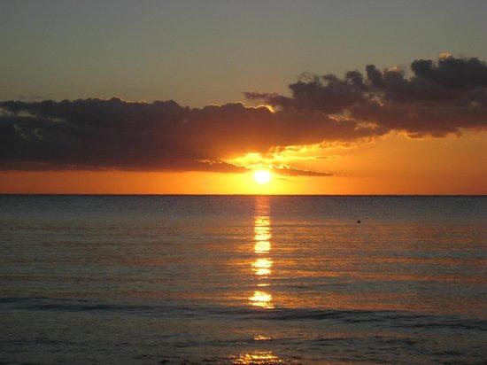 Iberostar Cozumel: Sunset from resort