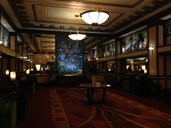 Hotel Edison Times Square : Seating area, ground floor of hotel.