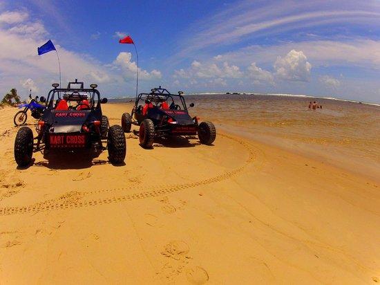 Praia de Pipa, RN: Parada para banho