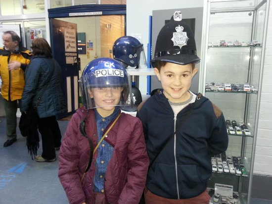 Greater Manchester Police Museum: Policemen really do get younger