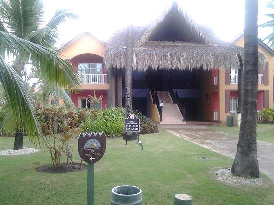 Tropical Princess Beach Resort & Spa: le bloc où j'étais